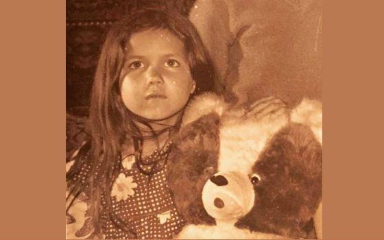 Екатерина Климова поделилась детским фото