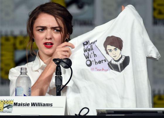 Мэйси Уильямс не считает себя актрисой одной роли