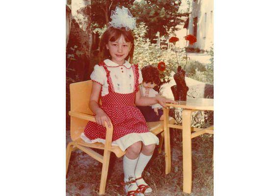 Маленькая Оксана Нечитайло обожала петь и танцевать
