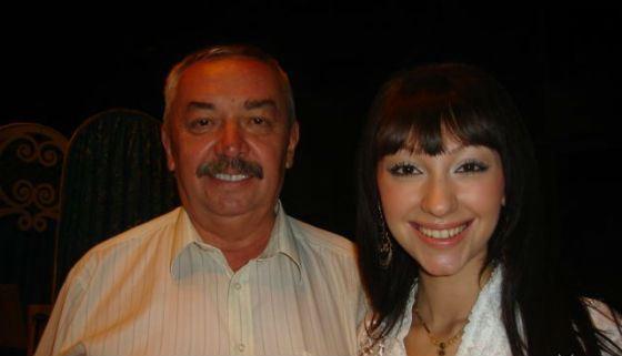 Согдиана с отцом, Владимиром Нечитайло