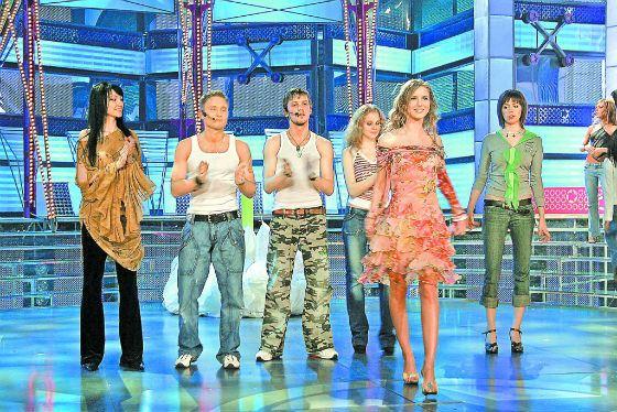 Согдиана (слева) с другими участниками «Фабрики звезд-6»