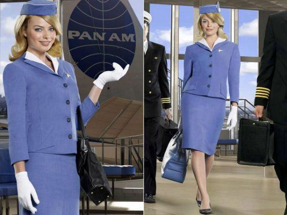 Марго Робби в сериале «Pan American»: сексуальная стюардесса