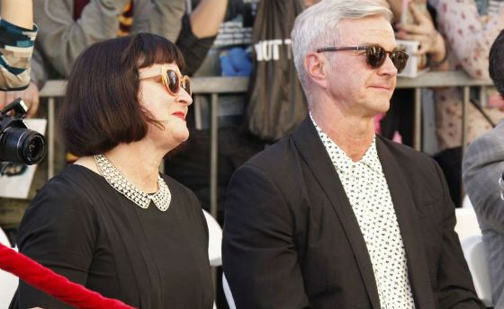 Родители Дэниела Рэдклиффа на премьере фильма с участием сына