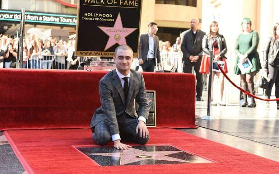 Звезда Дэниела Рэдклиффа на «Аллее славы»