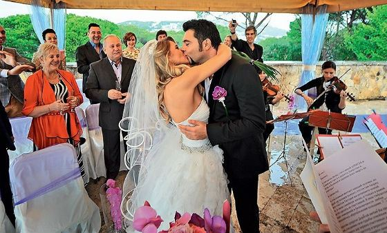 Фото со свадьбы Алексея Чумакова и Юлии Ковальчук