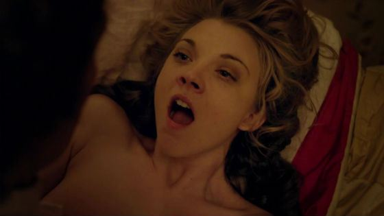 Натали Дормер приходилось сниматься в постельных сценах