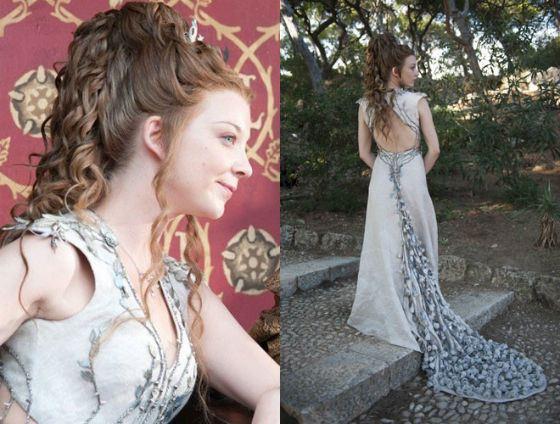 Свадебное платье Маргери Тирелл костюмеры шили вручную