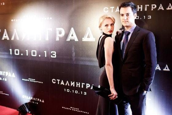 Янина Студилина и ее муж Александр Роднянский-мл.