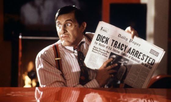 «Дик Трейси»: Аль Пачино в роли злодея по кличке Биг Бой Каприз