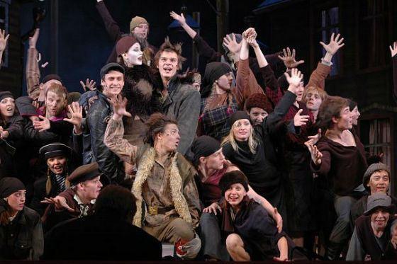 Театр «Глобус»: Павел Прилучный в мюзикле «НЭП»