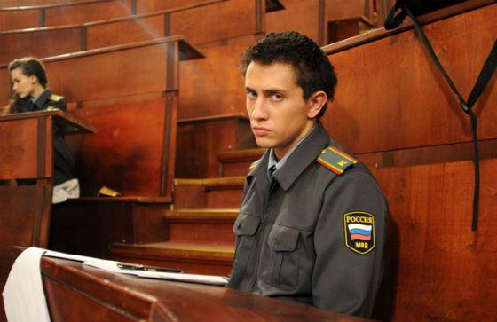Павел Прилучный на съемках сериала «Метод Лавровой»