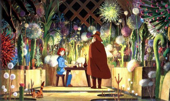Кадр из аниме «Навсикая из долины Ветров»