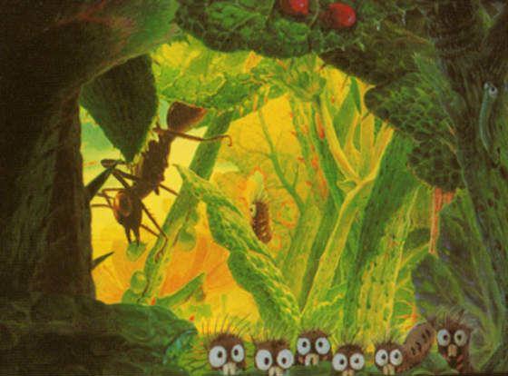 «Гусеница Боро» – первый мультфильм Миядзаки с 3D-графикой