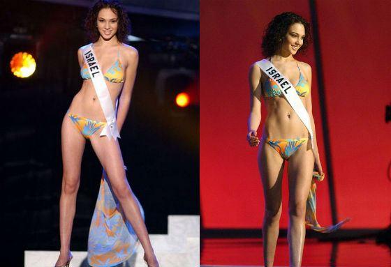 Галь Гадот – Мисс Израиль-2004