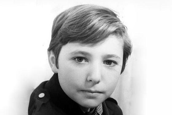 Александр Хлопонин в детстве