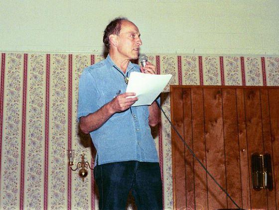 Роджер Желязны читал свои произведения на радио