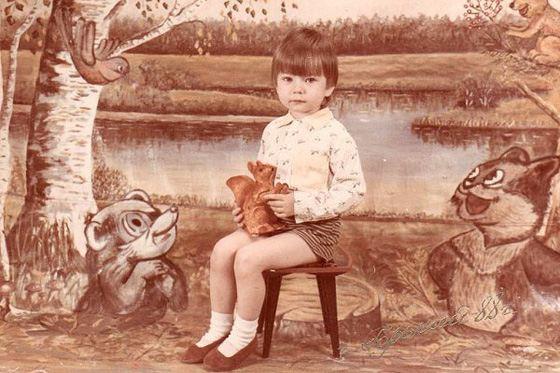 Виталий Мочалов (Фотий) в детстве