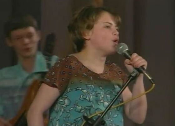 Юлия Проскурякова: детское фото (1999 год)