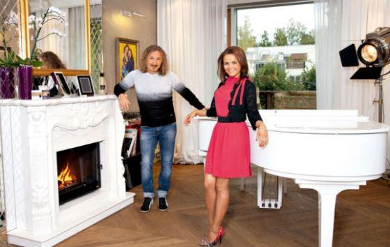 Семейный уют Игоря Николаева и Юлии Проскуряковой