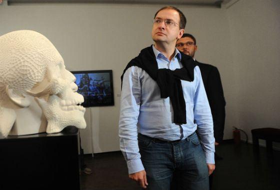 Владимир Мединский в Московском музее современного искусства