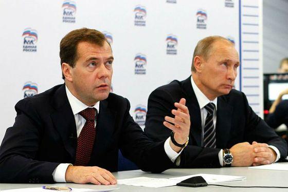 Владимир Путин и Дмитрий Медведев познакомились в 1990 году