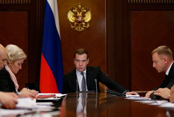 В 2012 Дмитрий Медведев стал Председателем правительства РФ
