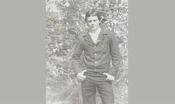 Виктор Назаров в молодости