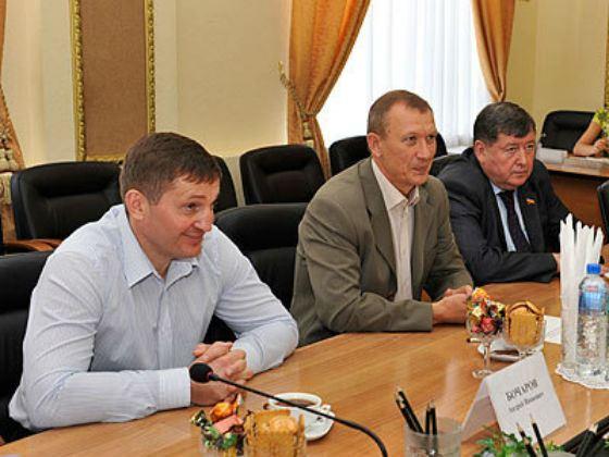 Андрей Бочаров в администрации Брянской области