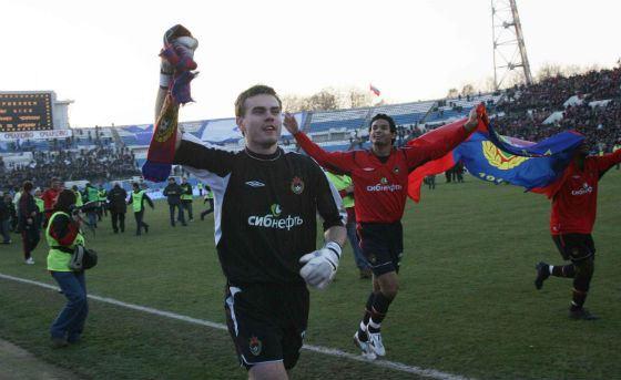 2007 год: Акинфеев вернулся на поле после травмы