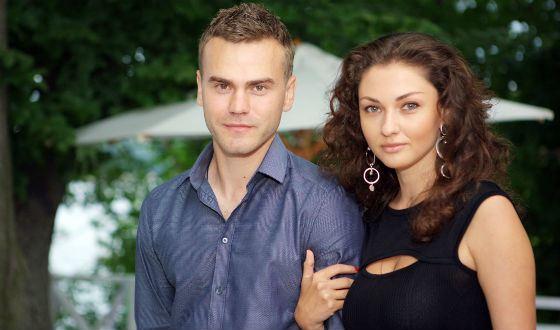 Игорь Акинфеев и его жена, Екатерина Герун