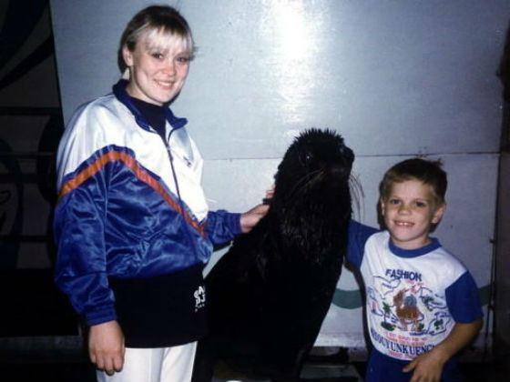 Маленький Александр Кокорин с мамой, Светланой Кокориной