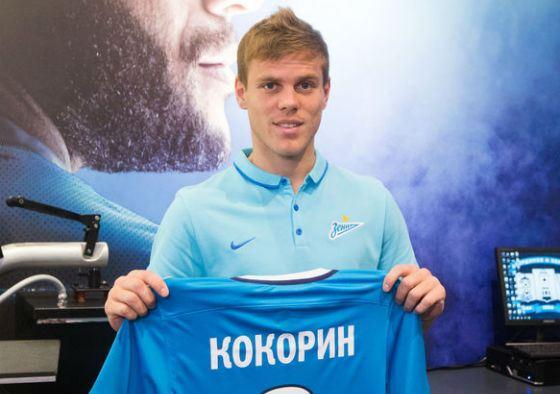 С 2016 Александр Кокорин играет за «Зенит»