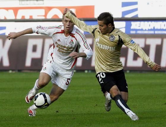 В 2008 Денис Глушаков в «Локомотиве» выложился на полную