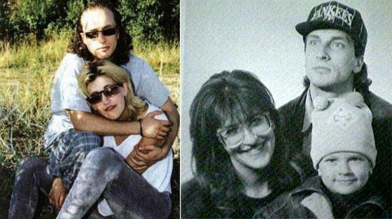 Алиса Шер и Дмитрий Нагиев в молодости