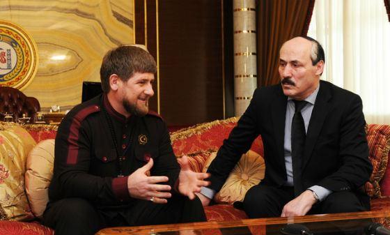 Рамазан Абдулатипов и Рамазан Кадыров