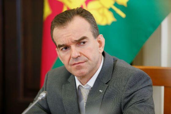 Глава администрации Краснодарского края Вениамин Кондратьев