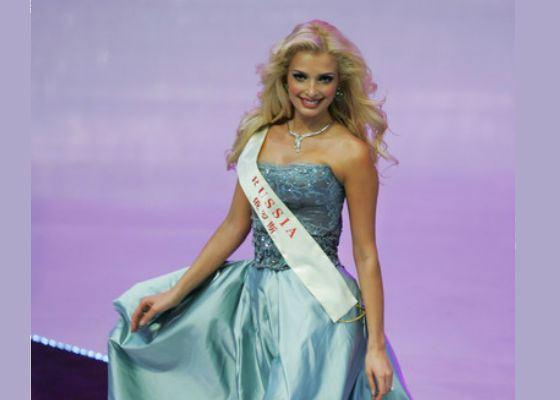 Татьяна Котова на «Мисс Мира-2007»