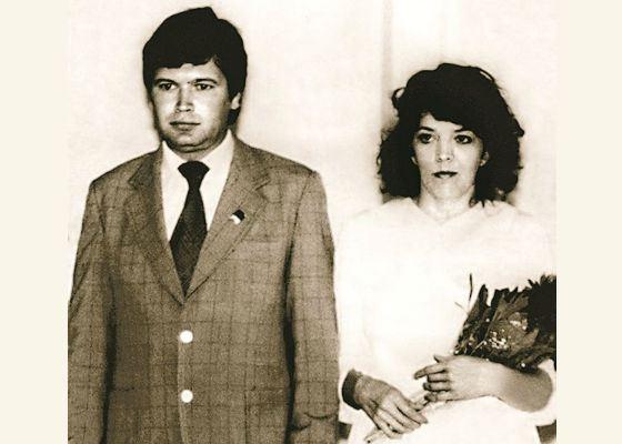 На фото: родители Веры Брежневой