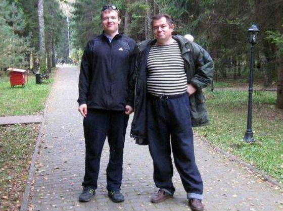 Сергей Глазьев и его старший сын Юрий