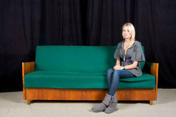 Фотосессия Евгении Лозы для спектакля «Продается детектор лжи»