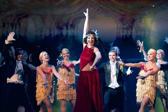 Ирина Медведева в мюзикле Pola Negri