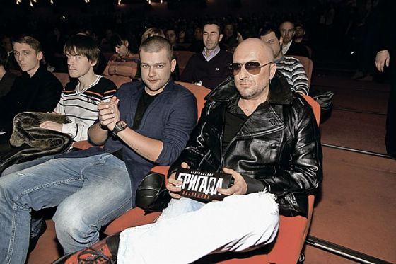 Кирилл Нагиев и Дмитрий Нагиев на премьере х/ф «Бригада: наследник»