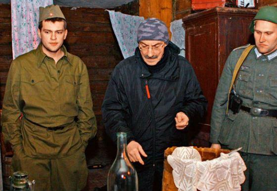 Кадр из фильма «Русский крест»