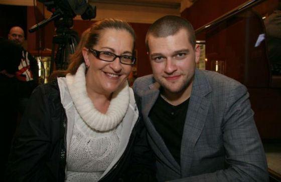 Кирилл Нагиев с мамой, Алисой Шер