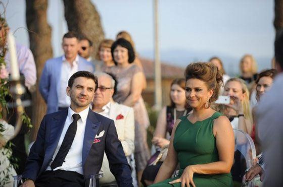 Михаил Абызов с женой