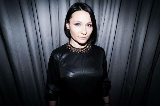 На фото: вторая жена Глеба Самойлова, модельер Анна Чистова