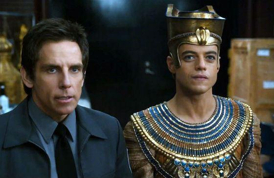 «Ночь в музее»: Рами Малек в роли фараона