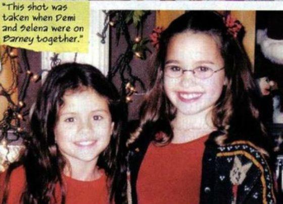 Селена Гомес и Деми Ловато – лучшие подруги с детства