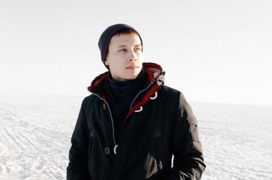 Молодой художник Алексей Зимин