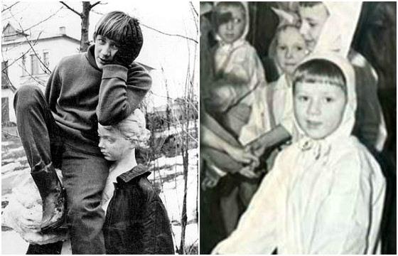 Андрей Краско в детстве